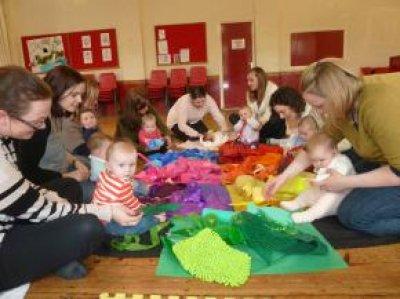 Εκδήλωση για μπόμπιρες (1-2 ετών) - Τα μαντηλάκια
